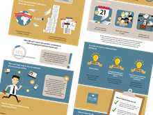 Infographic in opdracht van Tulsie Data-Driven Talent Acquisition